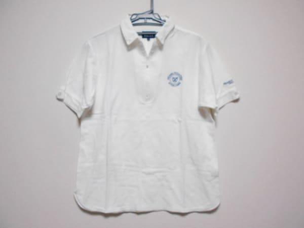 PEARLY GATES(パーリーゲイツ) 半袖ポロシャツ サイズ5 XL メンズ 白