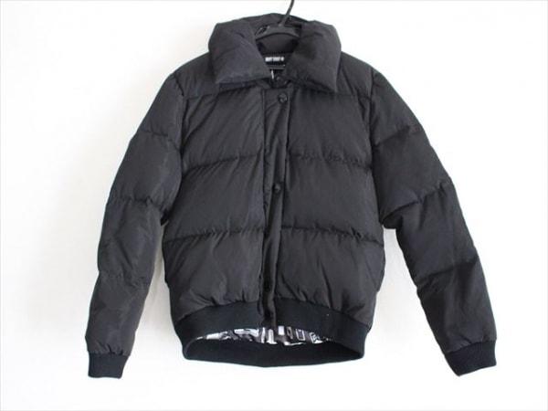 MARY QUANT(マリークワント) ダウンジャケット サイズM レディース美品  黒 冬物
