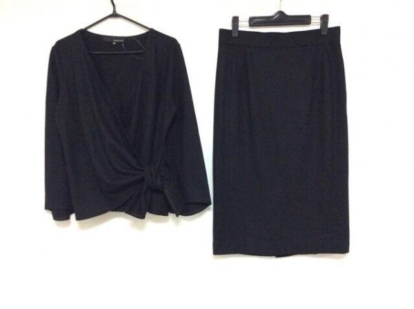 wb(ダブリュービー) スカートセットアップ サイズ40 M レディース 黒