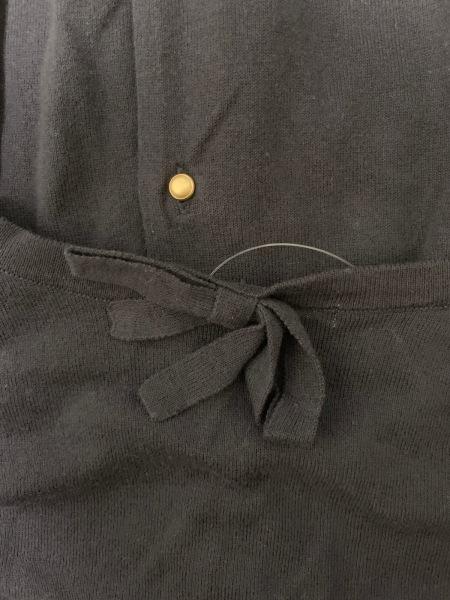 anatelier(アナトリエ) カーディガン サイズ2 M レディース美品  黒 リボン