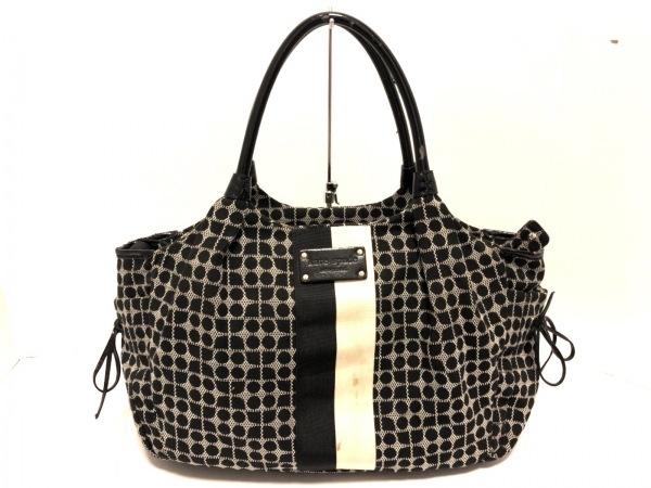 ケイトスペード ショルダーバッグ PXRU0993 黒×アイボリー マザーズバッグ
