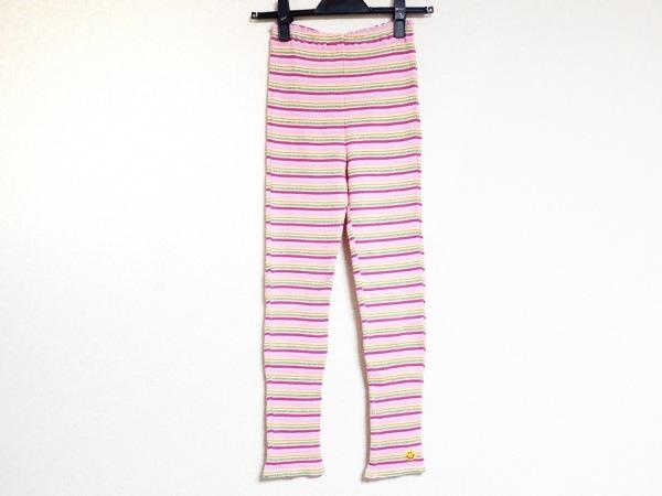 ミニK パンツ サイズ140 レディース新品同様  ピンク×ライトグリーン×マルチ