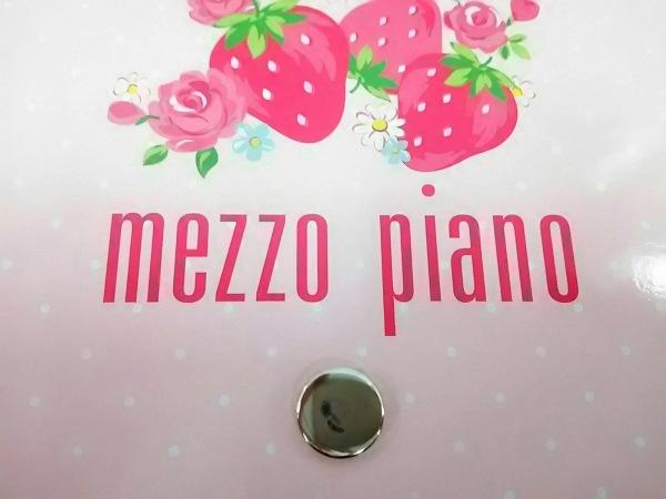 メゾピアノ 小物新品同様  ピンク×白×クリア フォトアルバム/2冊セット