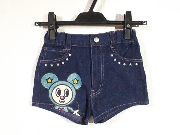 MINI-K(ミニK) ショートパンツ サイズ130 レディース新品同様  子供服/ラメ