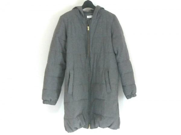LEPSIM(レプシィム) コート サイズM レディース美品  グレー 中綿/冬物