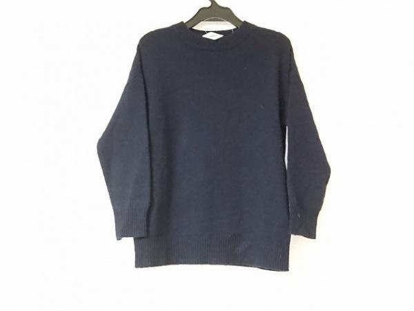 Drawer(ドゥロワー) 長袖セーター サイズ1 S レディース美品  ダークネイビー