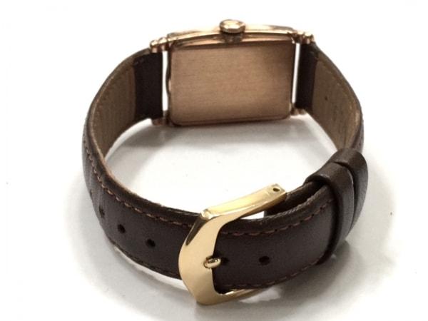 HAMILTON(ハミルトン) 腕時計 - レディース 社外革ベルト ピンクゴールド