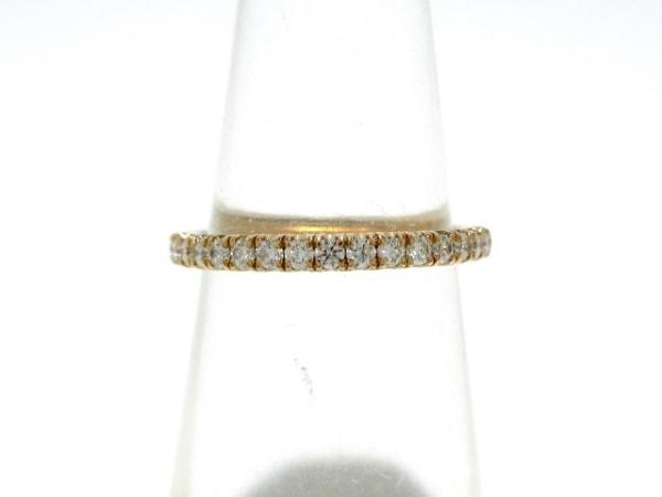 Cartier(カルティエ) リング 48美品  K18PG×ダイヤモンド フルダイヤ