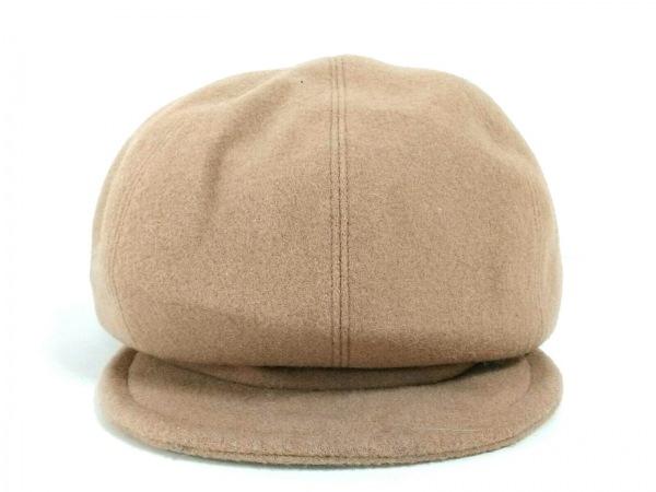 Le Vernis(ルヴェルニ) 帽子美品  ブラウン ウール×ナイロン