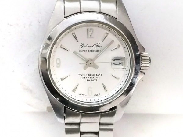 Spick&Span(スピック&スパン) 腕時計 - レディース シルバー
