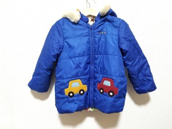 miki HOUSE(ミキハウス) コート サイズ100 メンズ ブルー 冬物
