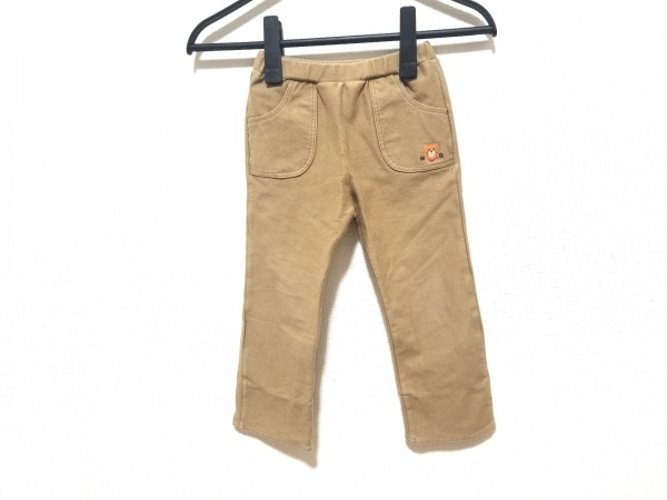 miki HOUSE(ミキハウス) パンツ サイズ100 メンズ ライトブラウン