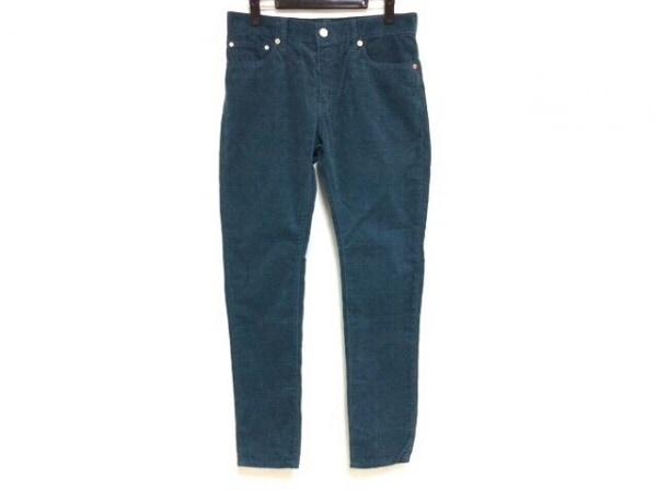 Caqu(サキュウ) パンツ サイズ2 M レディース ネイビー コーデュロイ