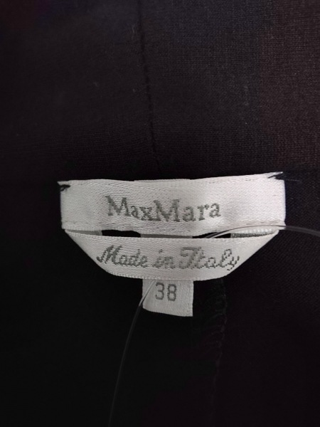 Max Mara(マックスマーラ) ワンピース サイズ38 S レディース美品  黒