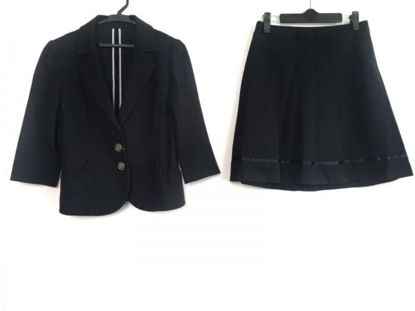 RewdeRew(ルゥデルゥ) スカートスーツ サイズ40 M レディース 黒