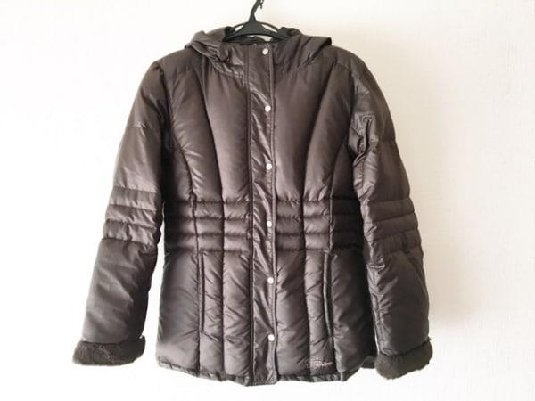 フェールラーベン ダウンジャケット サイズL レディース美品  ダークブラウン 冬物
