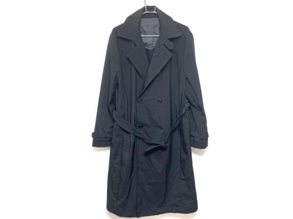 barassi(バラシ) トレンチコート サイズ46 XL メンズ 黒 冬物/ライナー付