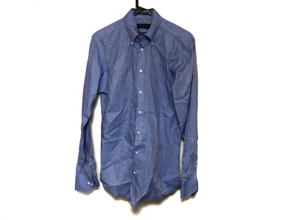 ETRO(エトロ) 長袖シャツ サイズ39 メンズ美品  ブルー