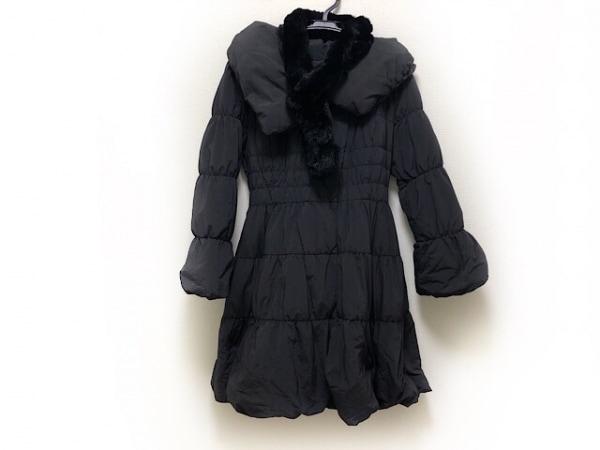 TO BE CHIC(トゥービーシック) ダウンコート サイズ40 M レディース美品  黒 冬物