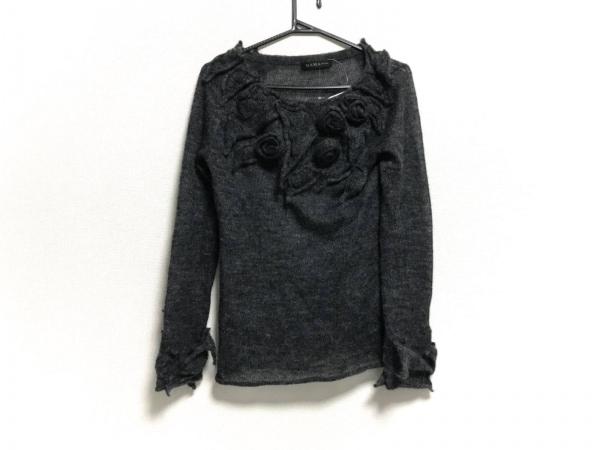 ダーマコレクション 長袖セーター サイズM レディース新品同様  ダークグレー