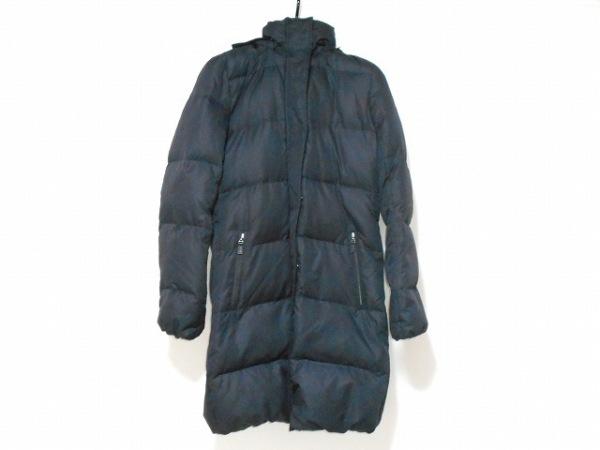 LAUTREAMONT(ロートレアモン) ダウンコート サイズ2 M レディース 黒 ファー/冬物