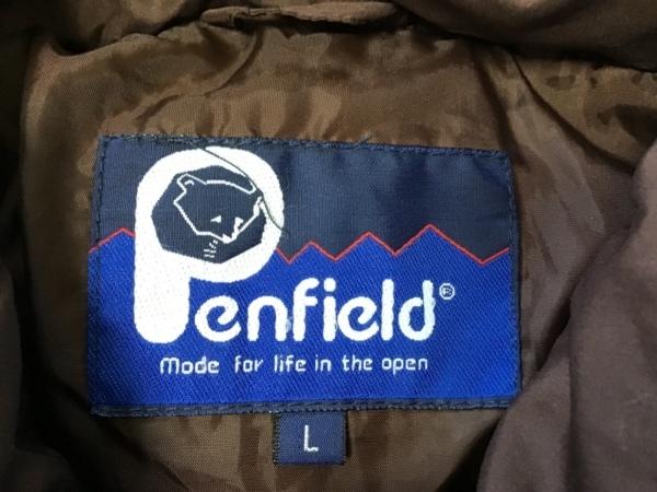 Penfield(ペンフィールド) ダウンコート サイズL メンズ ダークブラウン 冬物