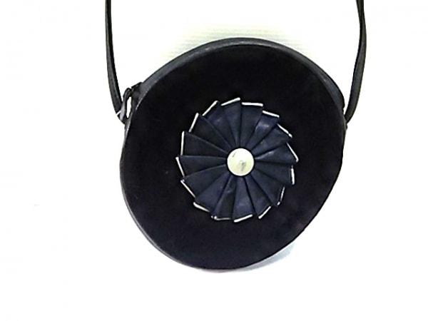 ジバンシー ショルダーバッグ 黒×ダークグレー ミニサイズ ベロア×レザー