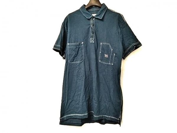 DIESEL(ディーゼル) 半袖カットソー サイズXL メンズ美品  ブルー