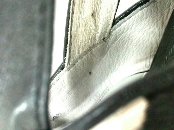 エーエムビー サンダル 37 レディース 黒×ダークブラウン×アイボリー