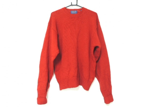 PENDLETON(ペンドルトン) 長袖セーター サイズM メンズ レッド