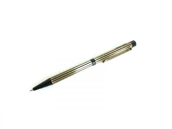 シェーファー ボールペン新品同様  ゴールド×黒 回転式/ストライプ/インクあり(黒)