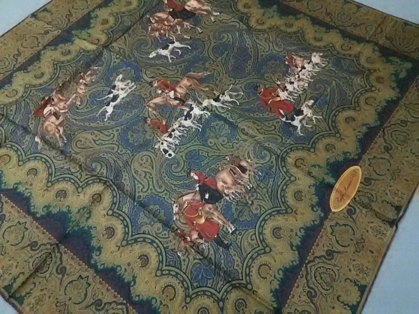 ラルフローレンコレクション パープルレーベル スカーフ美品