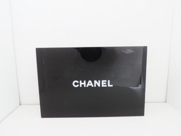 CHANEL(シャネル) 小物入れ - 黒×白 アクセサリーケース/ミラー付き/ノベルティ