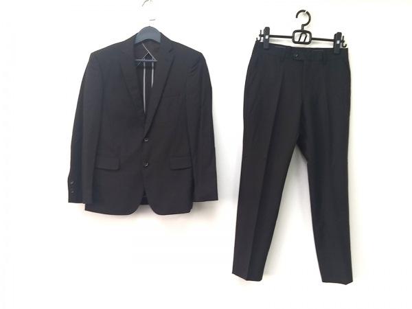 PERSON'S(パーソンズ) シングルスーツ サイズYA-3 メンズ ダークグレー×ライトグレー