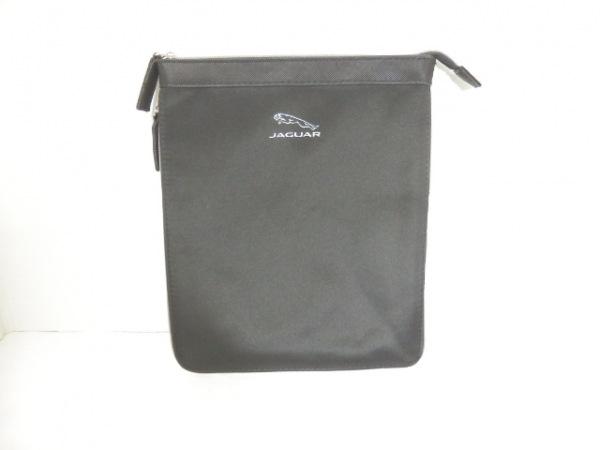 JAGUAR(ジャガー) ポーチ美品  黒 化学繊維×ラバー