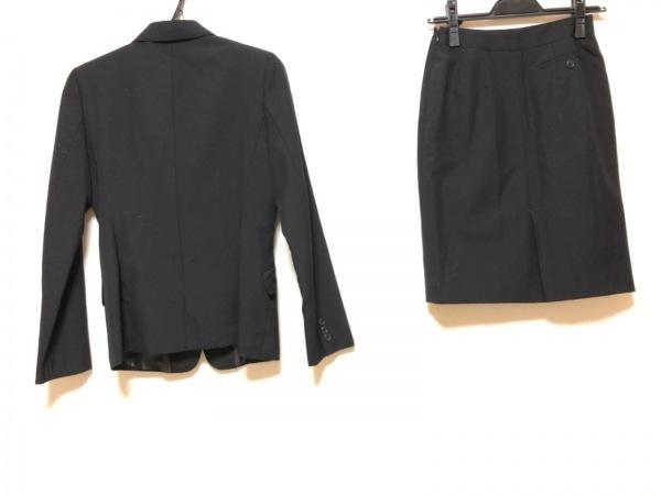 COMME CA ISM(コムサイズム) スカートスーツ サイズS レディース 黒