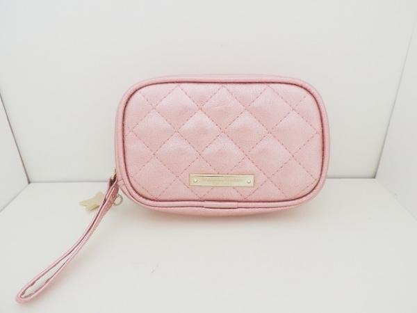 サマンサタバサプチチョイス 小物入れ美品  ピンク 合皮
