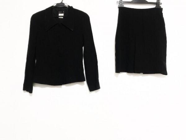 agnes b(アニエスベー) スカートスーツ レディース美品  黒
