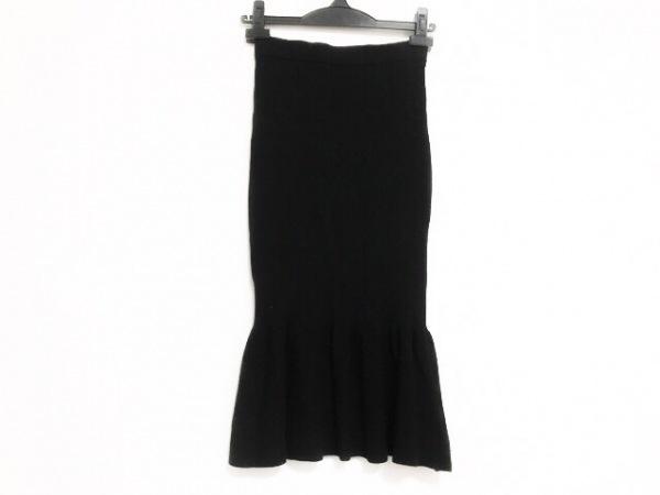 michell Macaron(ミシェルマカロン) スカート サイズXS レディース美品  黒 ニット