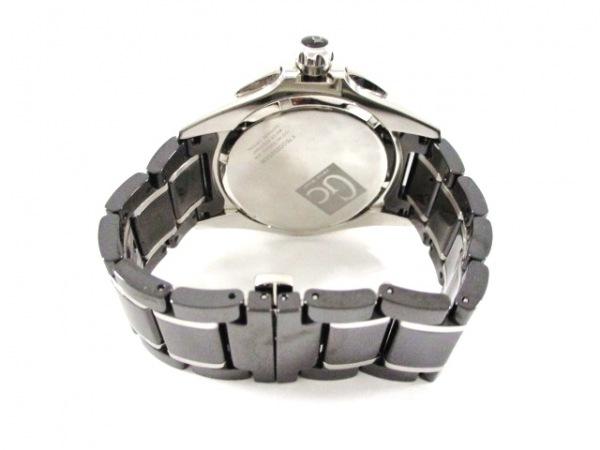 Gc(ジーシー) 腕時計美品  X76002G2S/06 メンズ クロノグラフ 黒