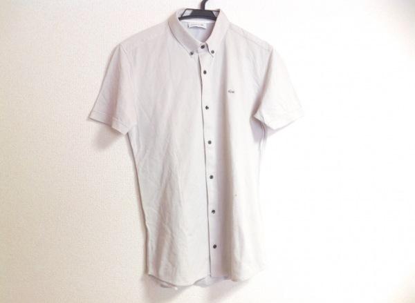 Lacoste(ラコステ) 半袖シャツ メンズ ライトグレー