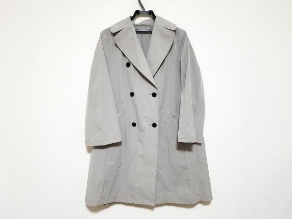 qualite(カリテ) コート サイズ38 M レディース美品  グレー 春・秋物