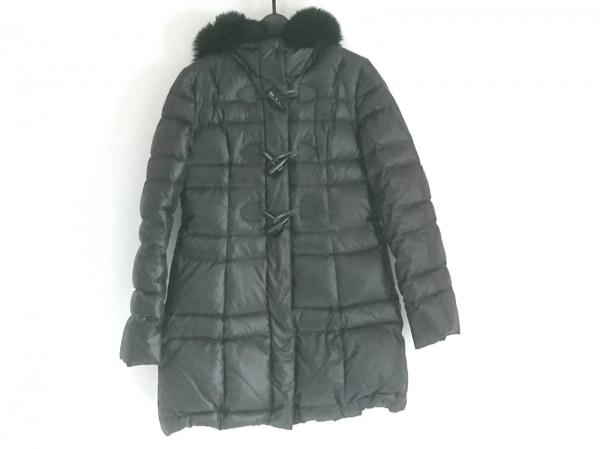 ヴァンドゥ オクトーブル ダウンコート サイズ38 M レディース美品  黒 冬物