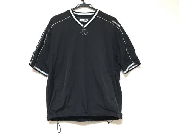 Black&White(ブラック&ホワイト) ジャージ サイズL メンズ美品  黒×白
