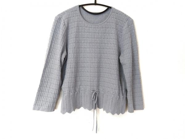 Leilian(レリアン) 長袖セーター サイズ13 L レディース ライトブルー