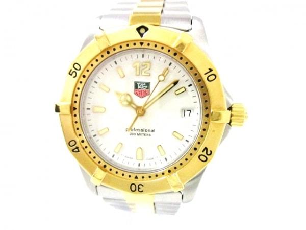 TAG Heuer(タグホイヤー) 腕時計美品  プロフェッショナル200 WK1120 メンズ 白