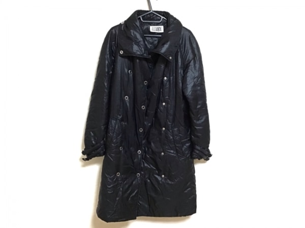 MM6(エムエムシックス) ダウンコート サイズ40 XL レディース 黒 冬物