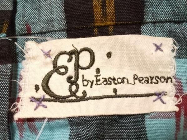 イーストンピアソン オールインワン サイズ8 M レディース ライトブルー×黒×マルチ
