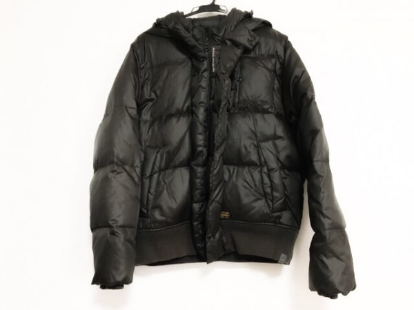 G-STAR RAW(ジースターロゥ) ダウンコート サイズXL メンズ美品  ダークブラウン 冬物
