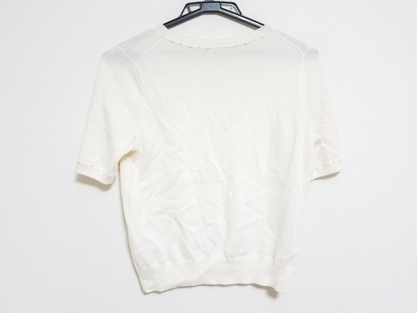 ANAYI(アナイ) 半袖セーター サイズ38 M レディース アイボリー 2